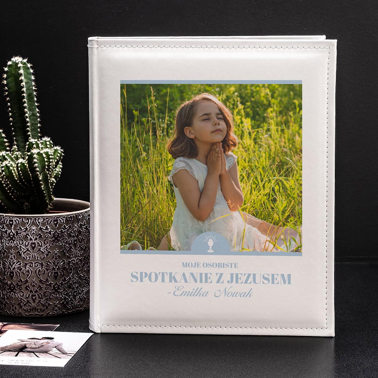 Album na zdjęcia KOMUNIA ŚWIĘTA to super prezent na Komunię