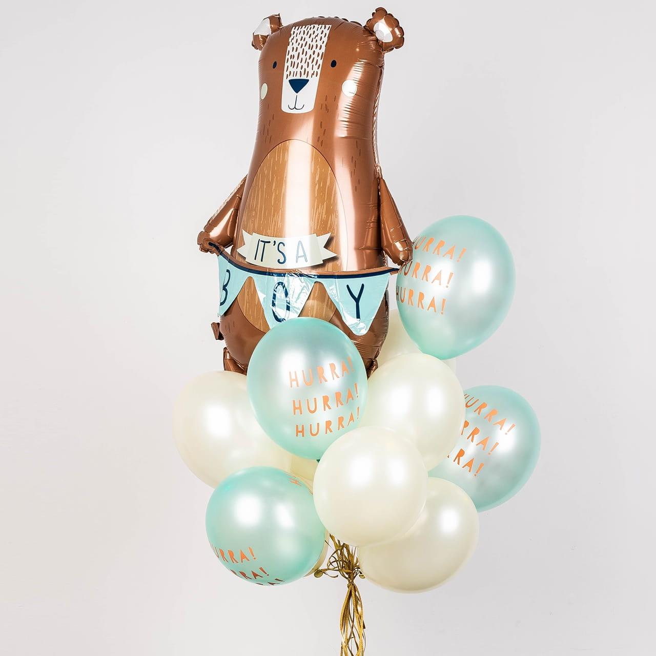 Balony z helem na narodziny dziecka