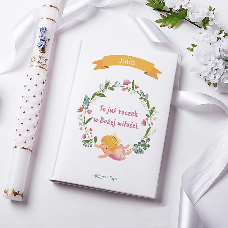 Biblia jako prezent na roczek dla dziewczynki