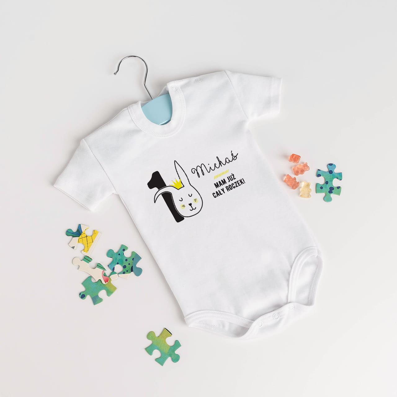 Body niemowlęce jako prezent na roczek dla chłopca