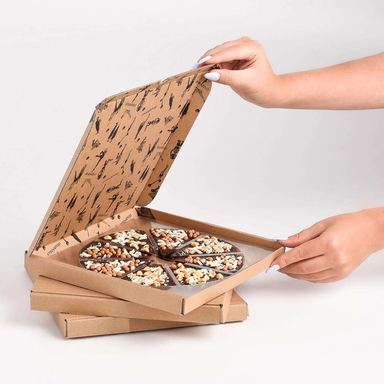 Pizza to słodki prezent na Dzień Chłopaka