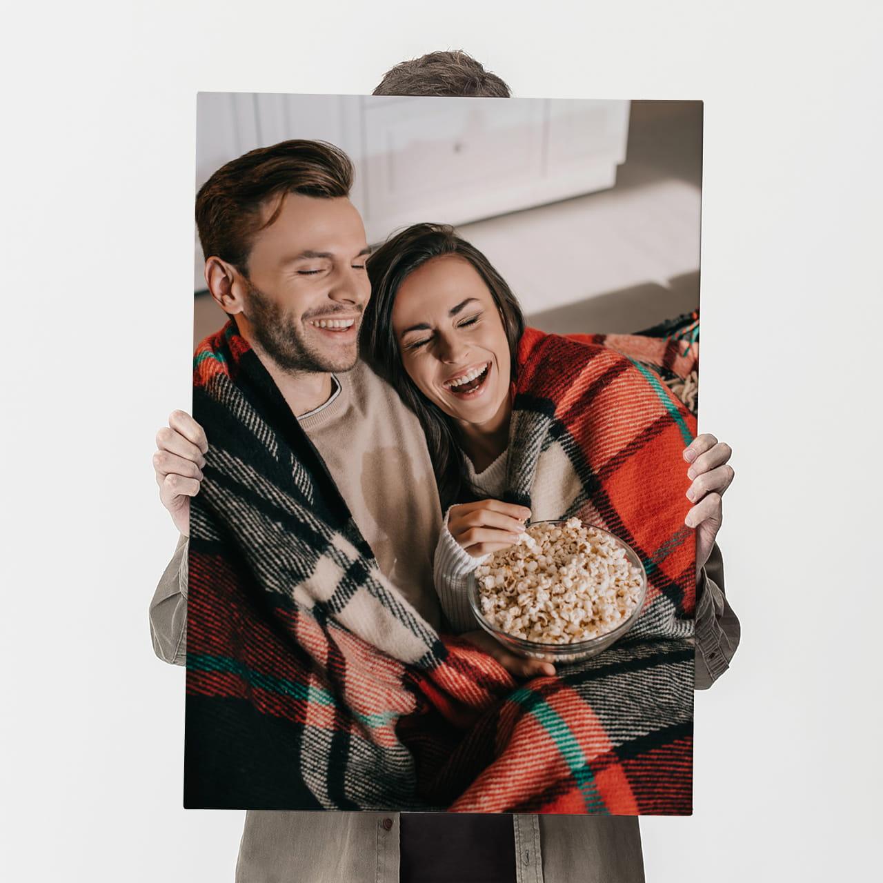 Fotoobraz na płótnie TWOJE ZDJĘCIE PION 70 x 50 cm