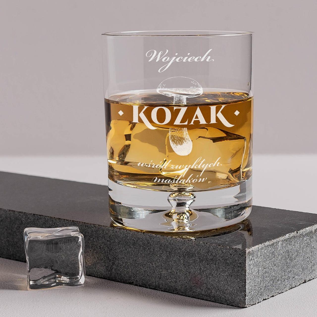 Szklanka do whisky to elegancki prezent dla grzybiarza
