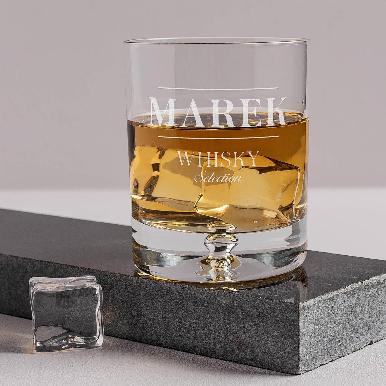 Szklanka do whisky na wyjątkowy prezent dla szefa