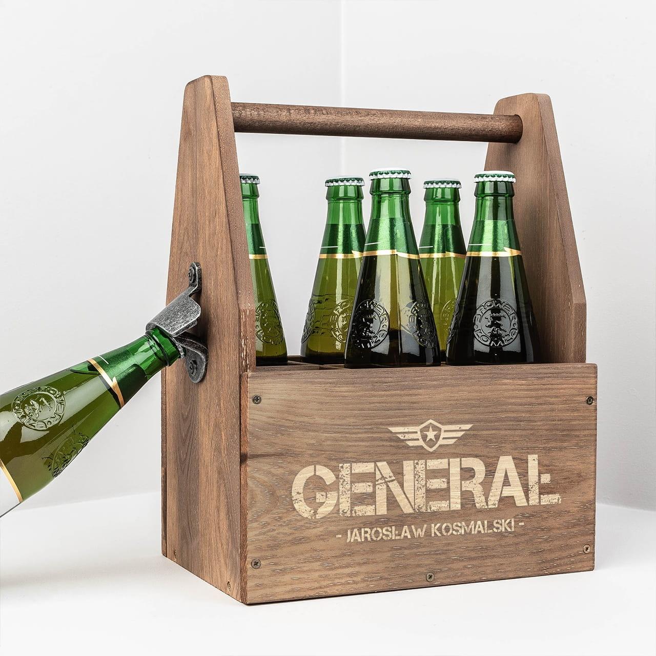Nosidło na piwo to oryginalny prezent dla żołnierza