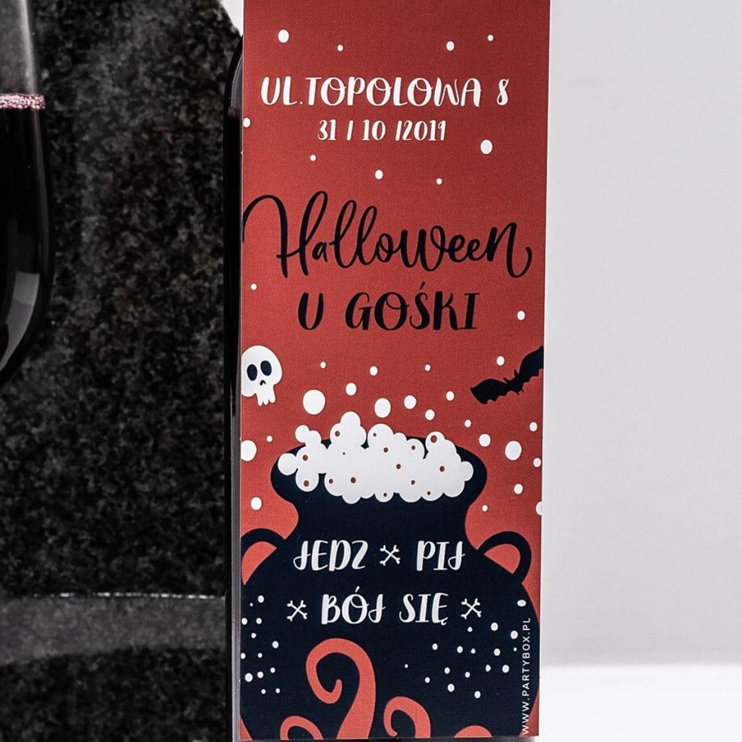 Zawieszki na butelki na Halloween