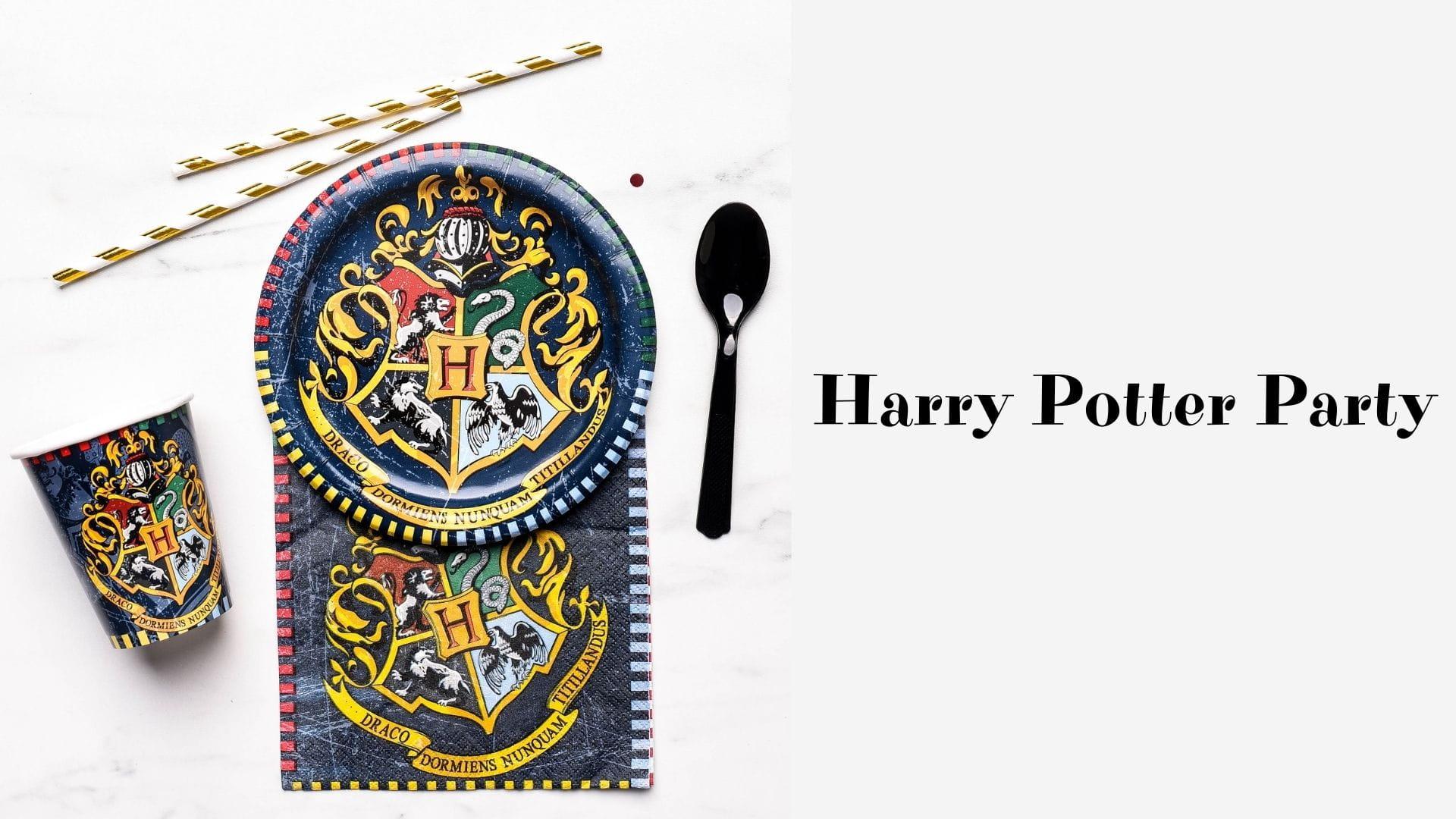 Harry Potter Party, czyli impreza w stylu Harrego Pottera