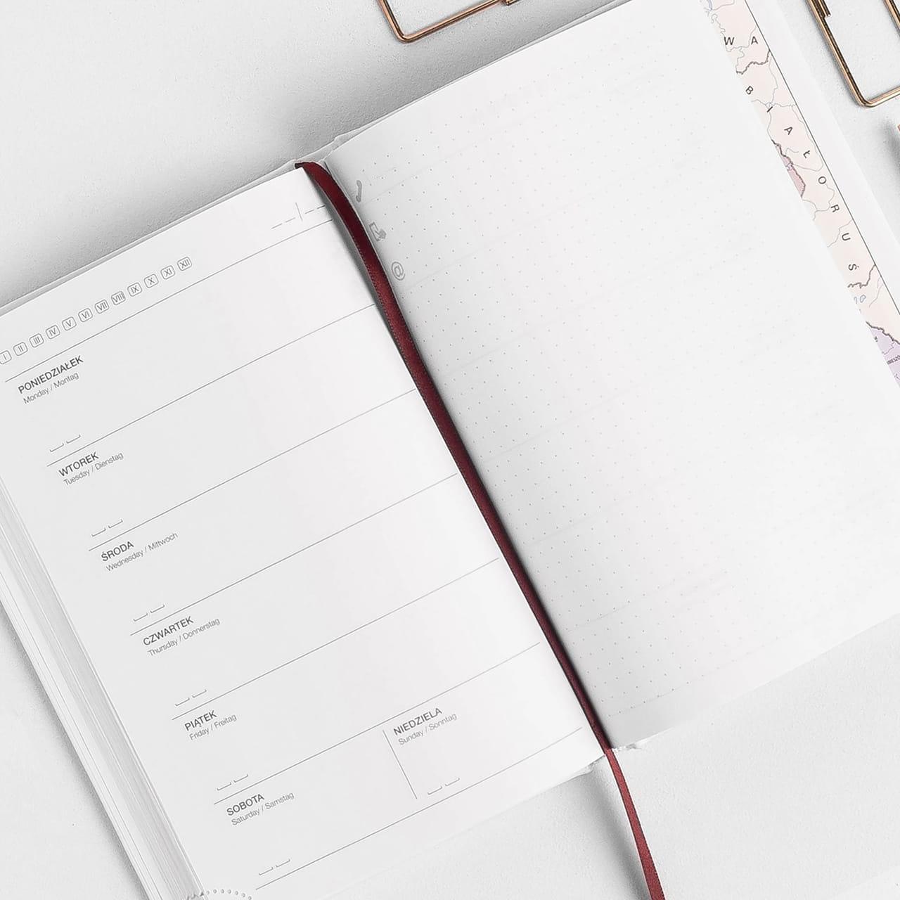 Kalendarz całoroczny na prezent dla weganki