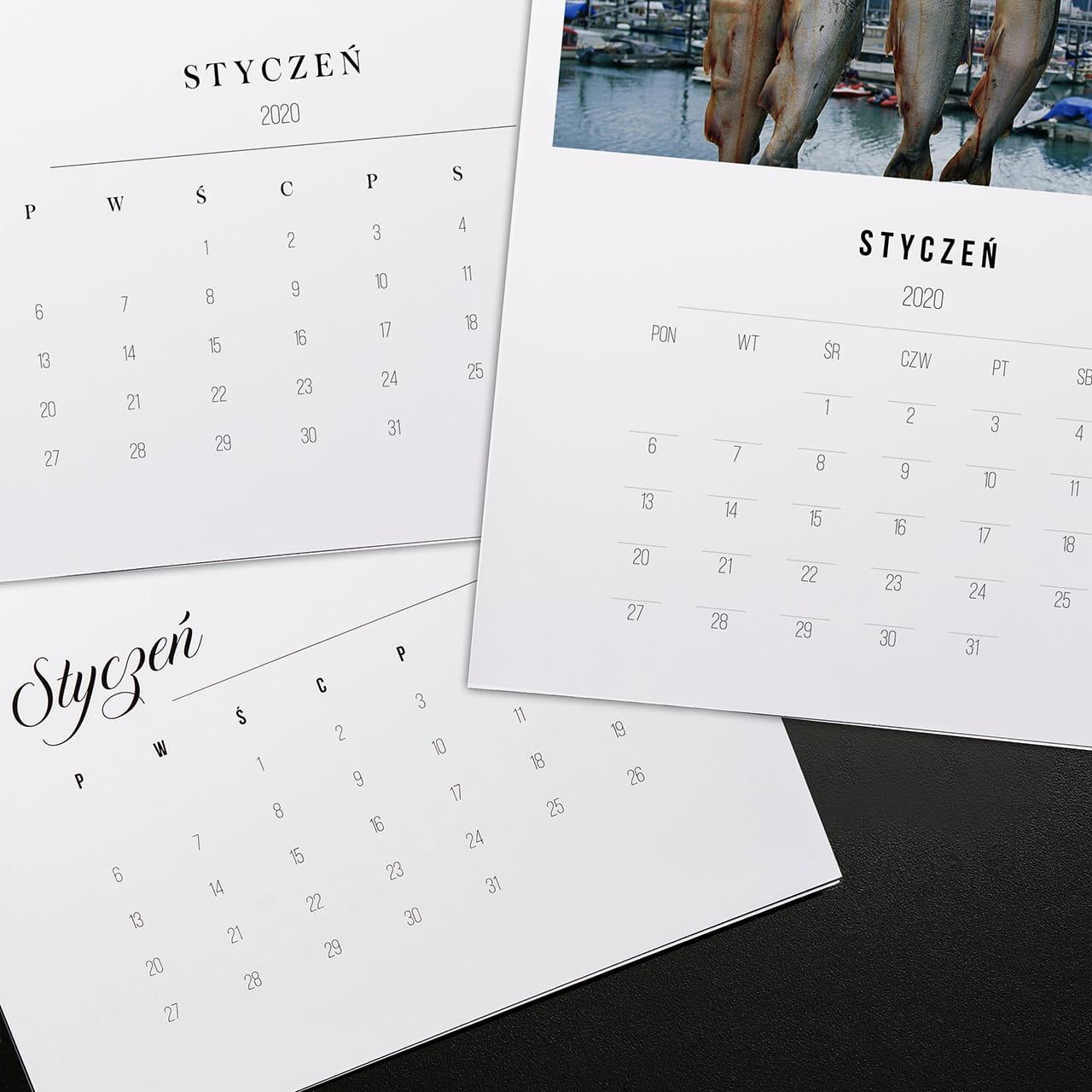 Kalendarz WĘDKARZ