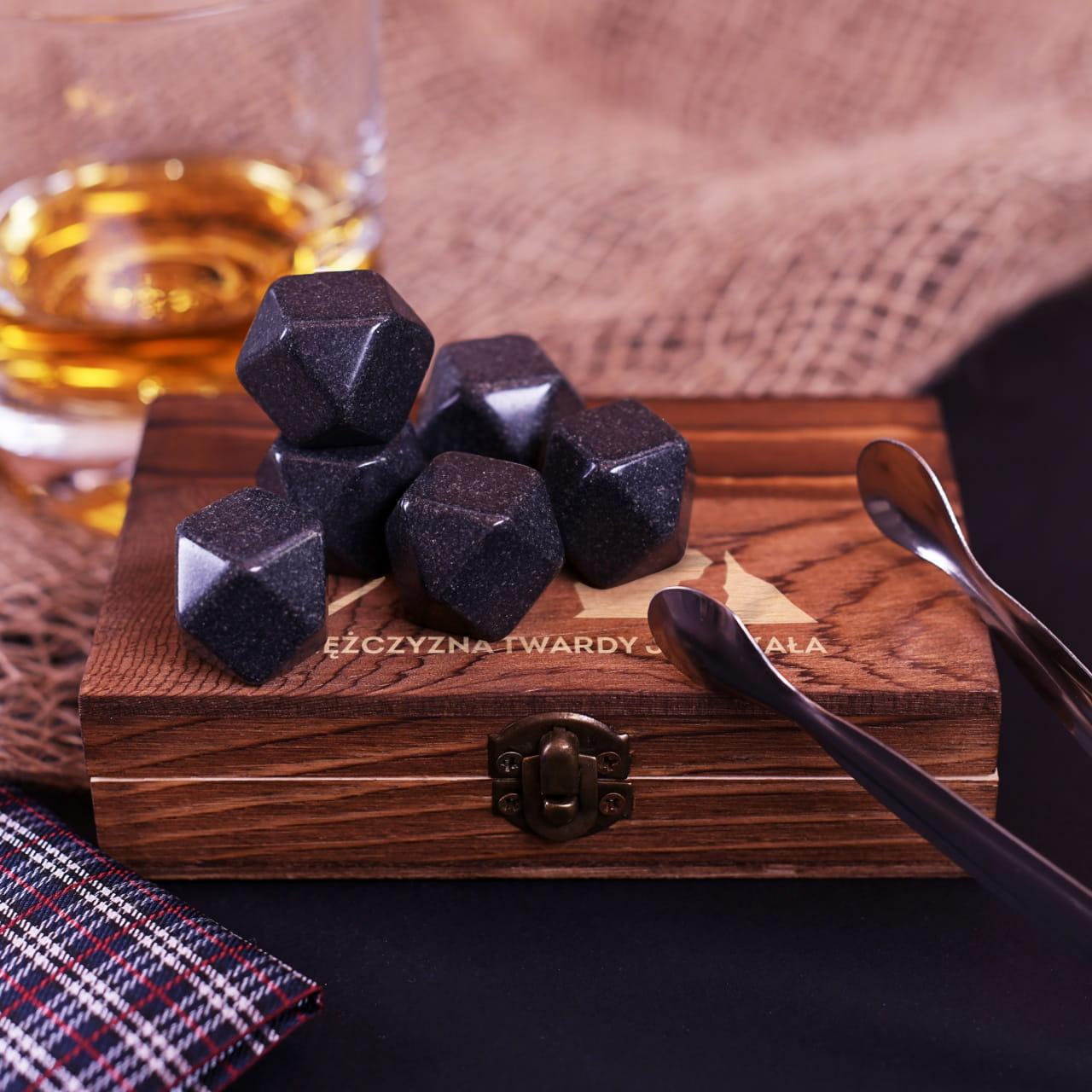 Kamienie do whisky PREZENT DLA ALPINISTY