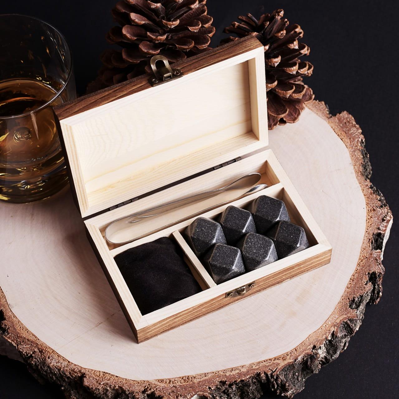 Kamienie do whisky na prezent dla myśliwego