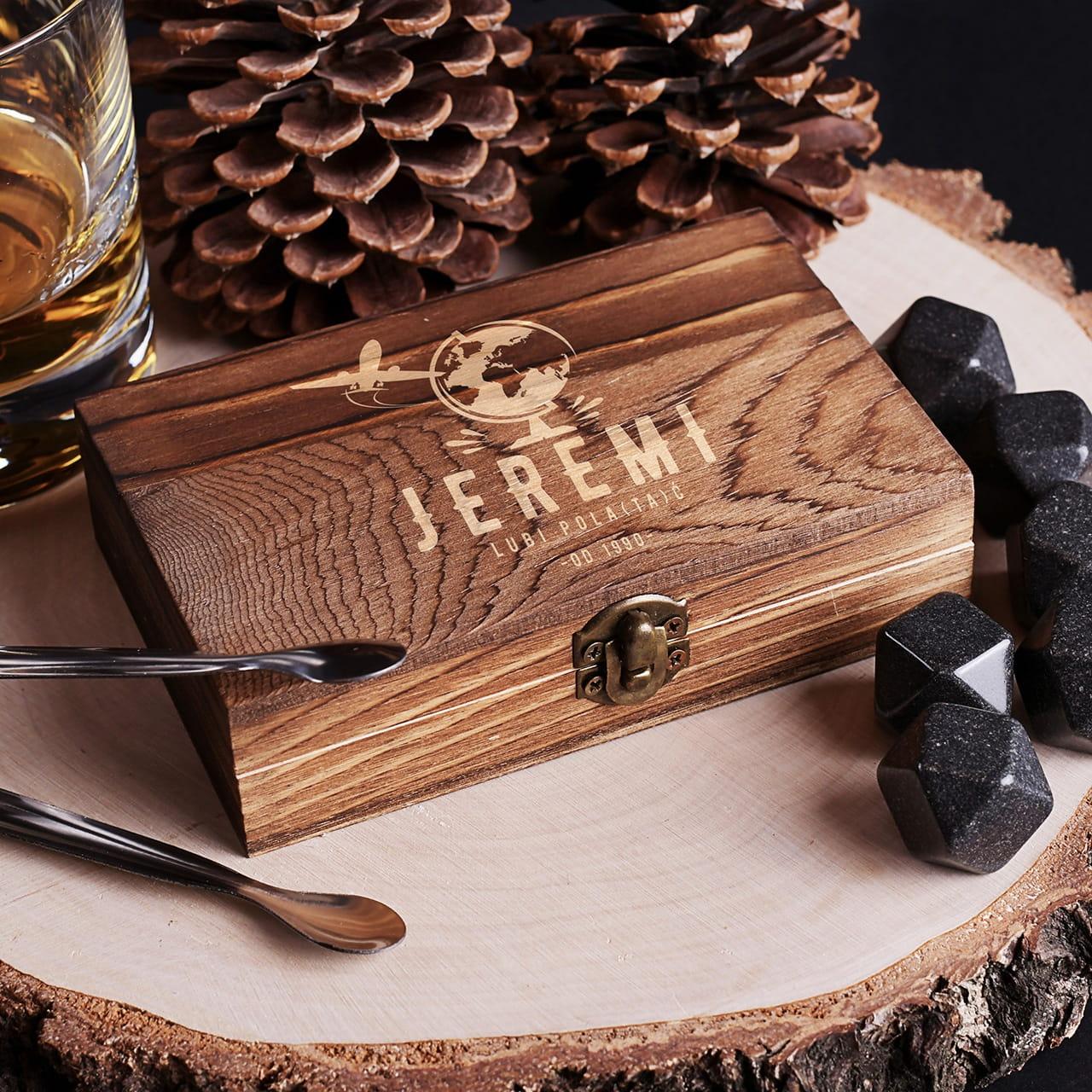 Kamienie do whisky DLA PODRÓŻNIKA