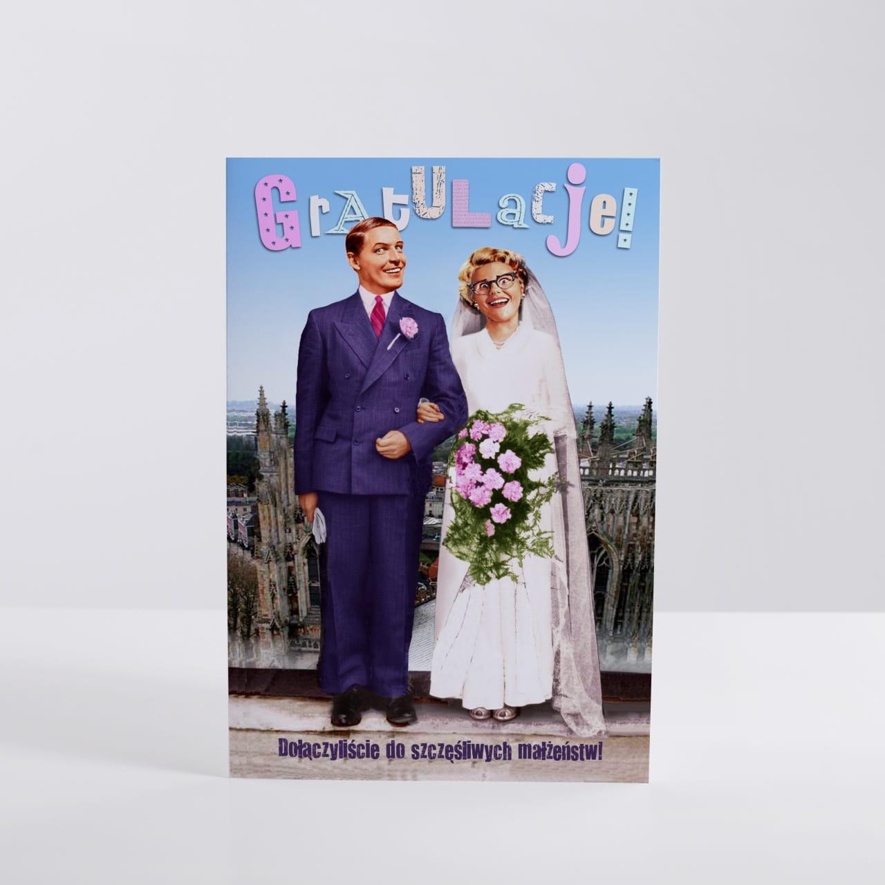 Kartka ślubna personalizowana