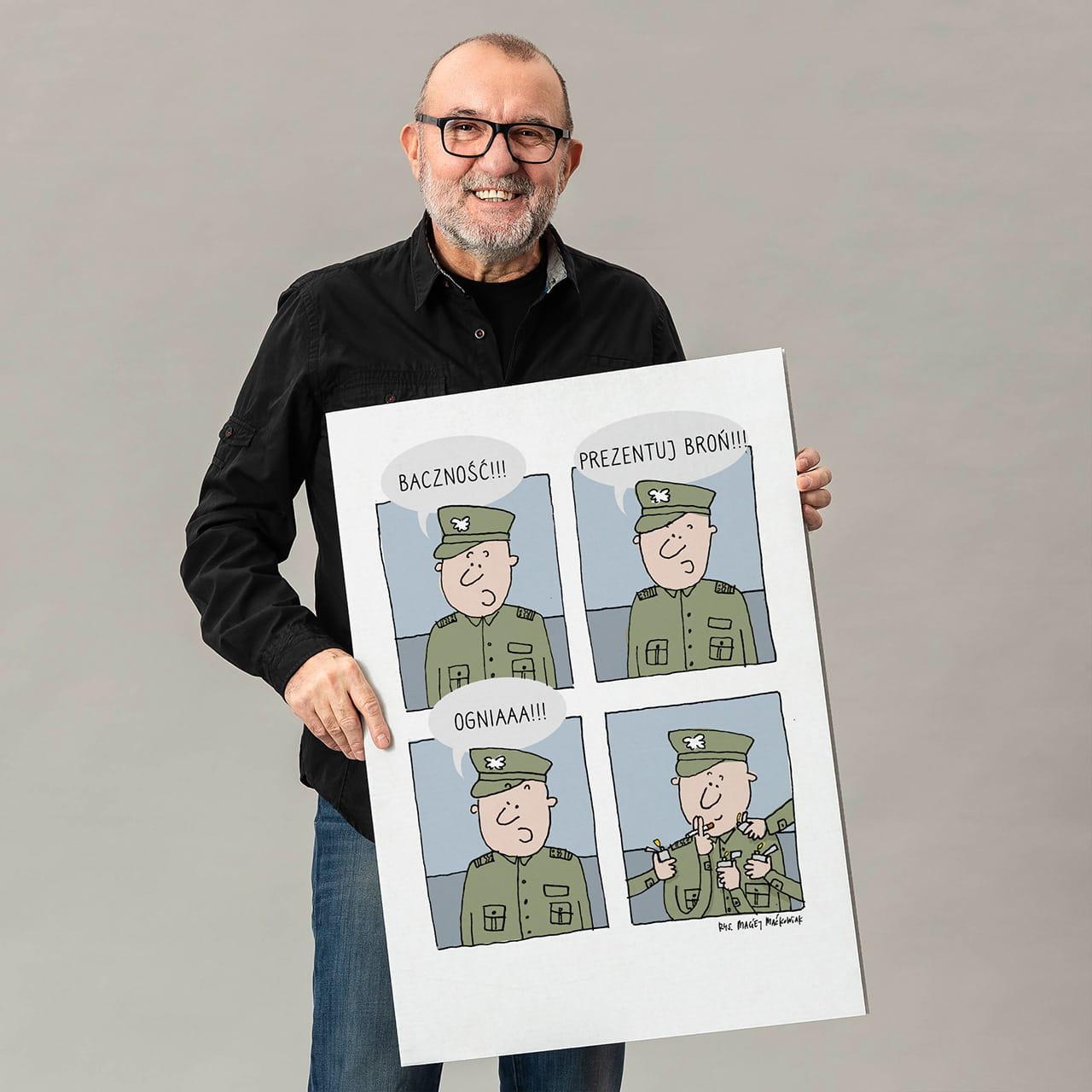 Kartka urodzinowa dla żołnierza
