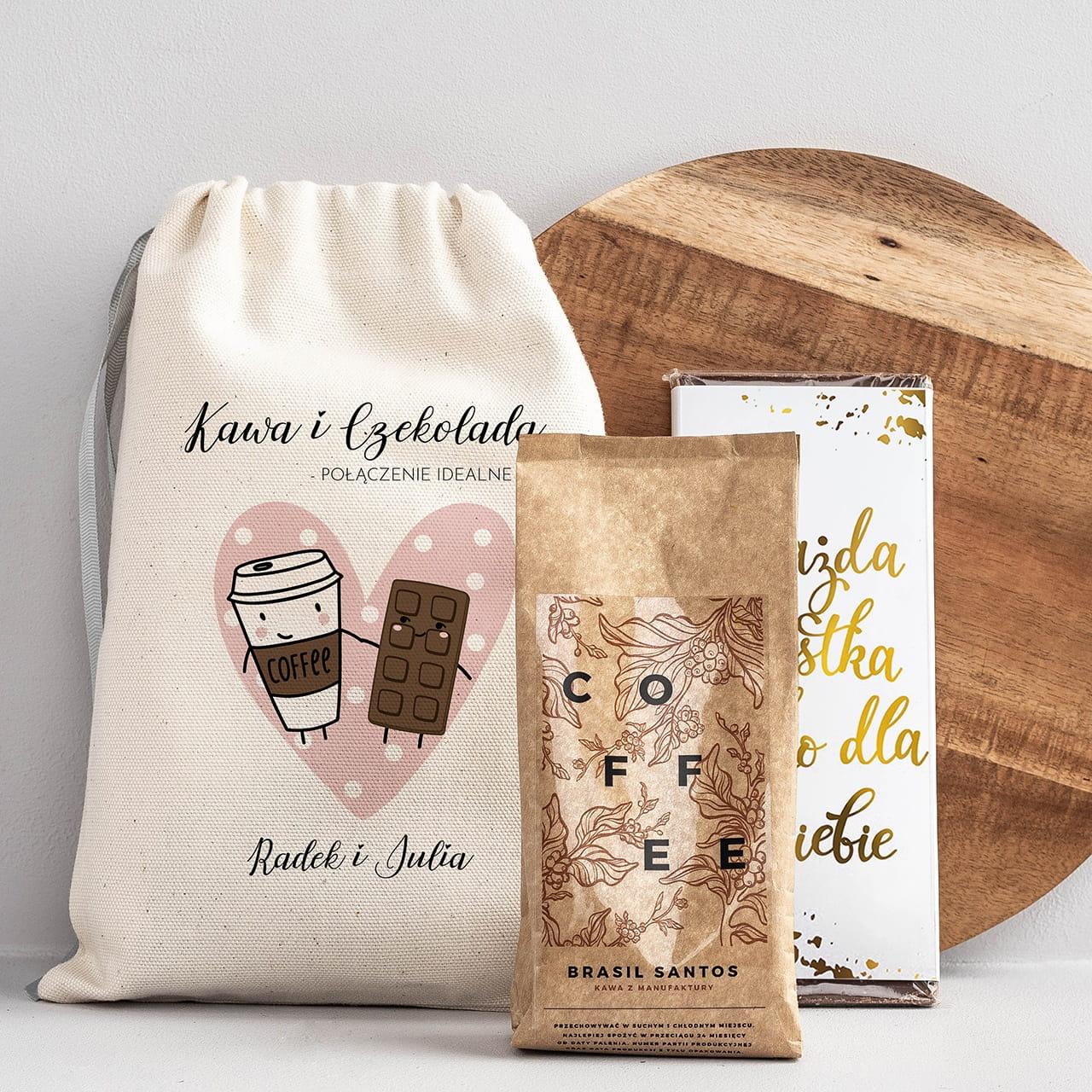 Kawa i czekolada na prezent dla kawosza