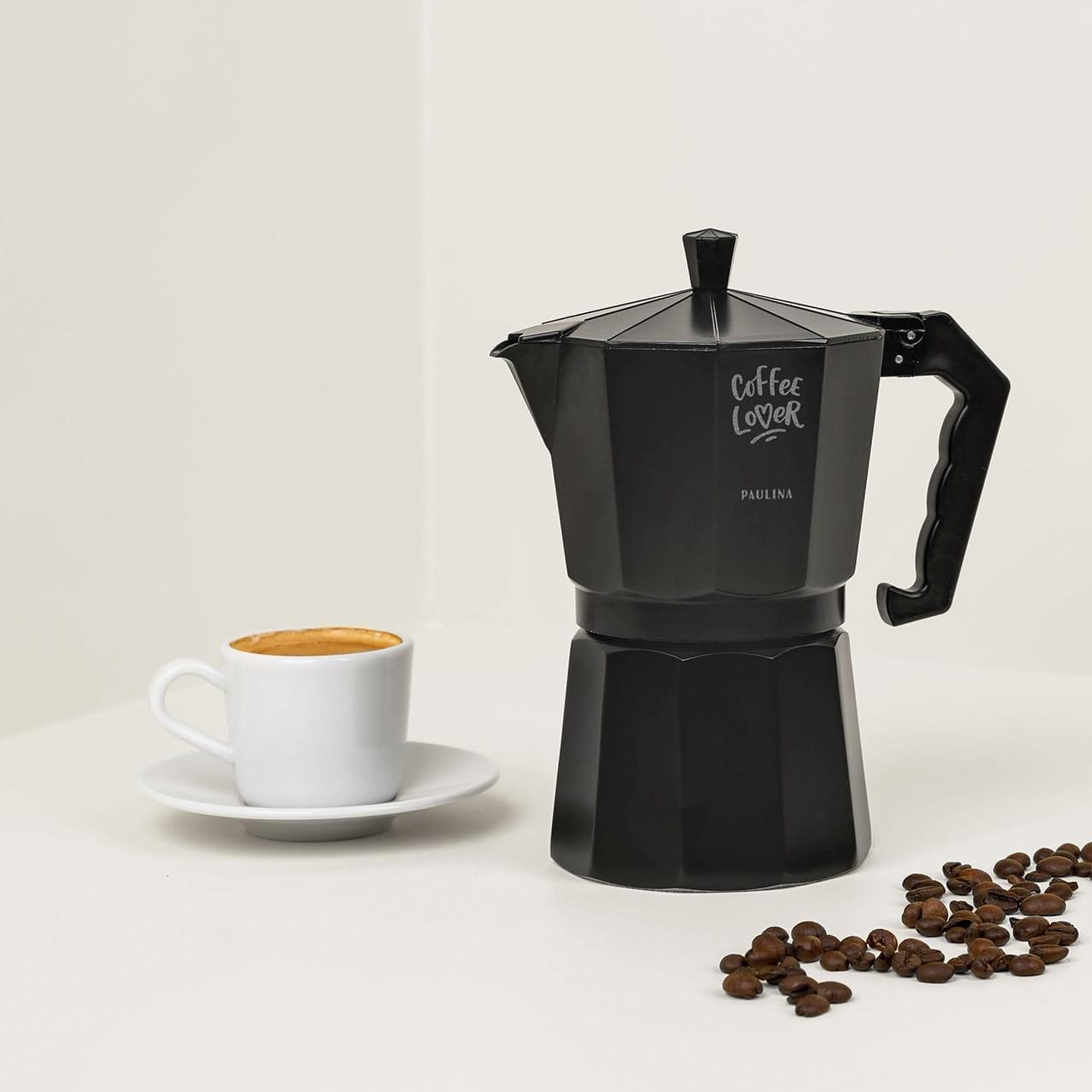 Kawiarka z grawerem COFFEE LOVER
