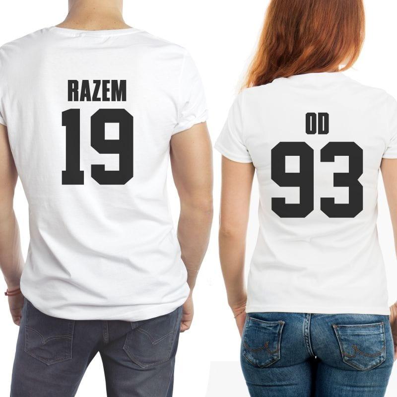 Koszulki dla męża i żony