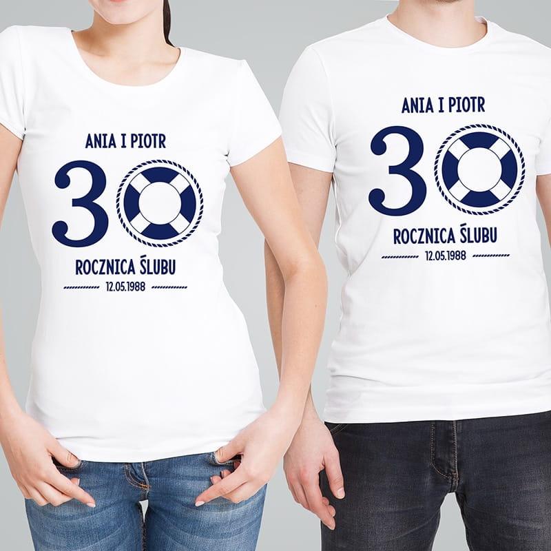 Komplet koszulek, czyli oryginalny prezent na Dzień Męża i Żony