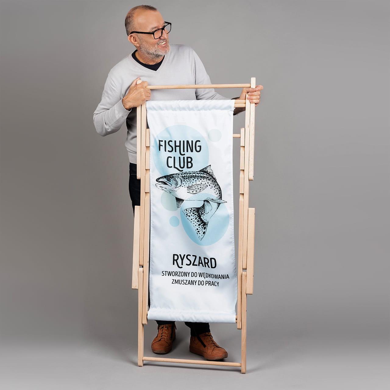 Leżak FISHING CLUB