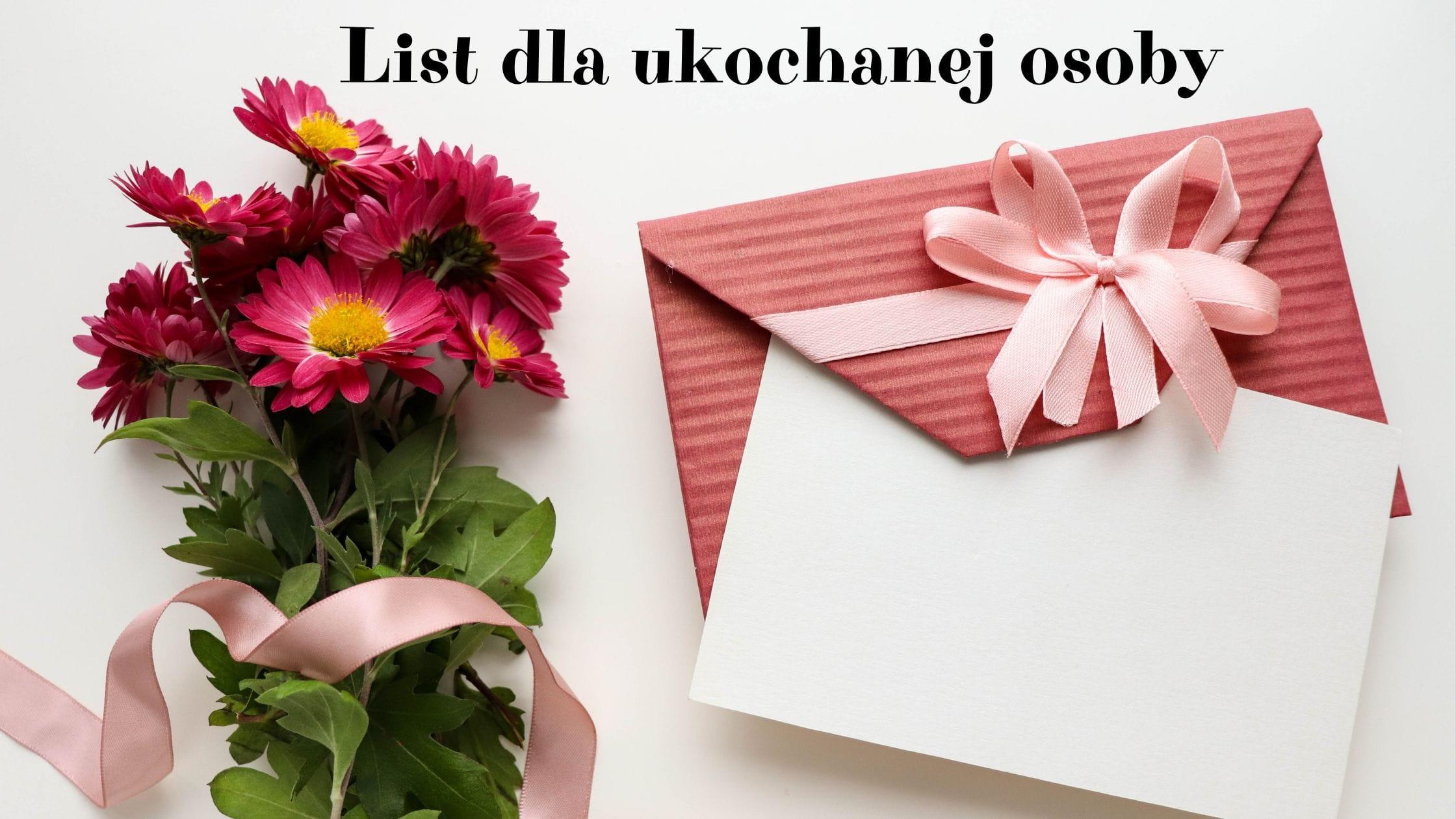 List dla ukochanej osoby