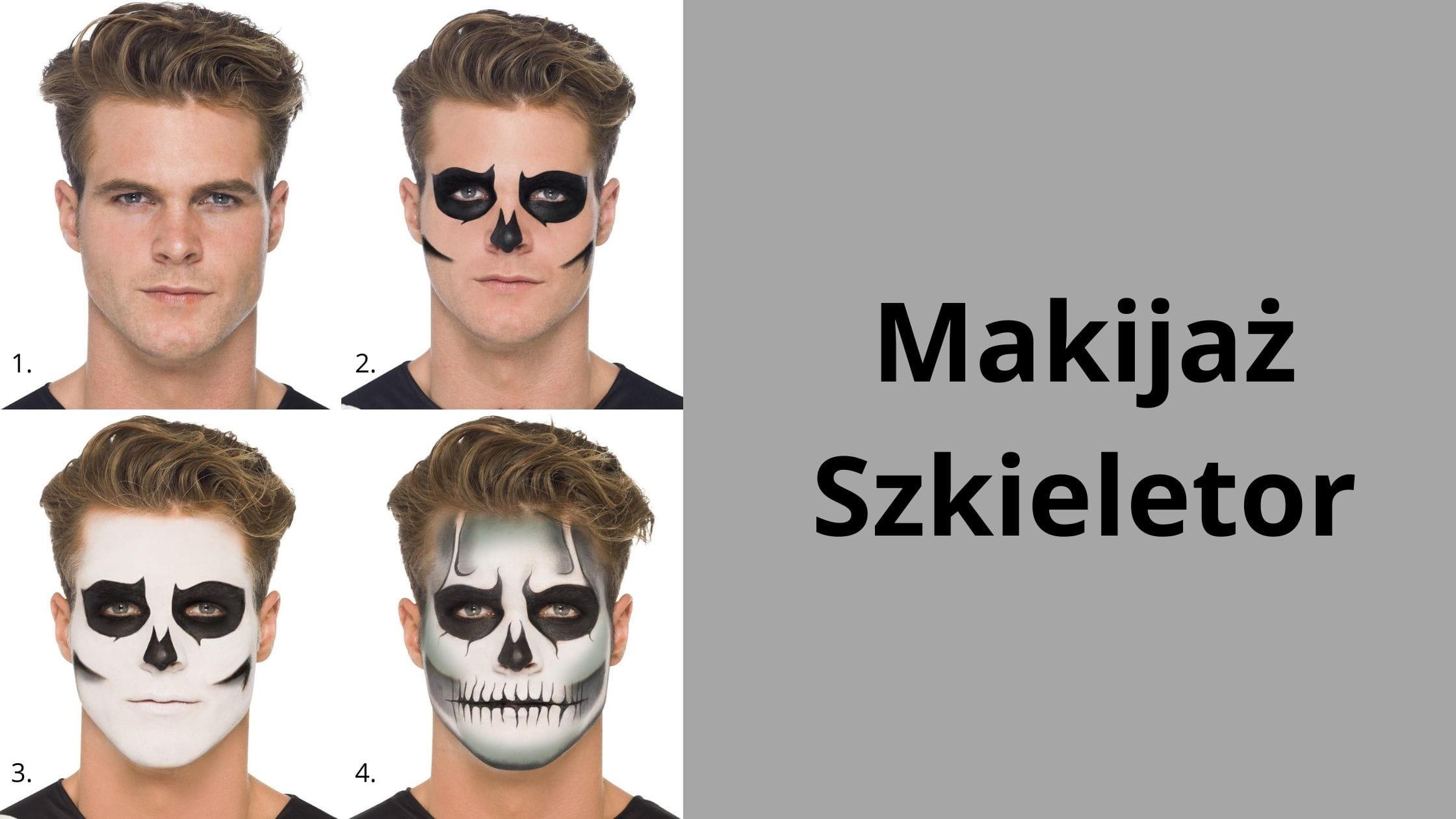 Makijaż Szkieletor
