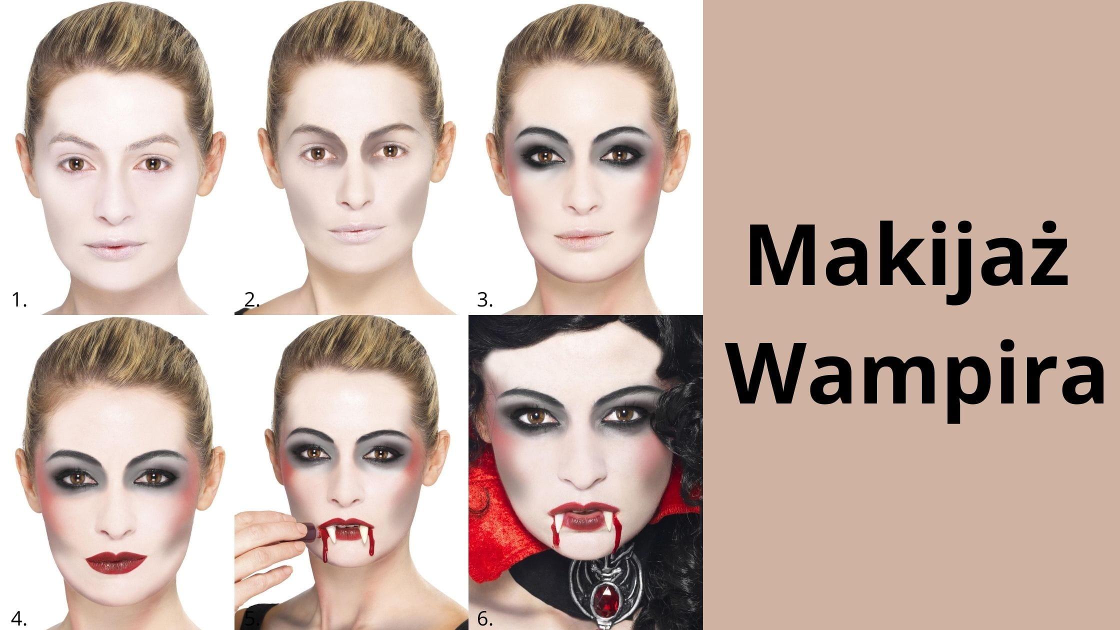 Makijaż Wampira