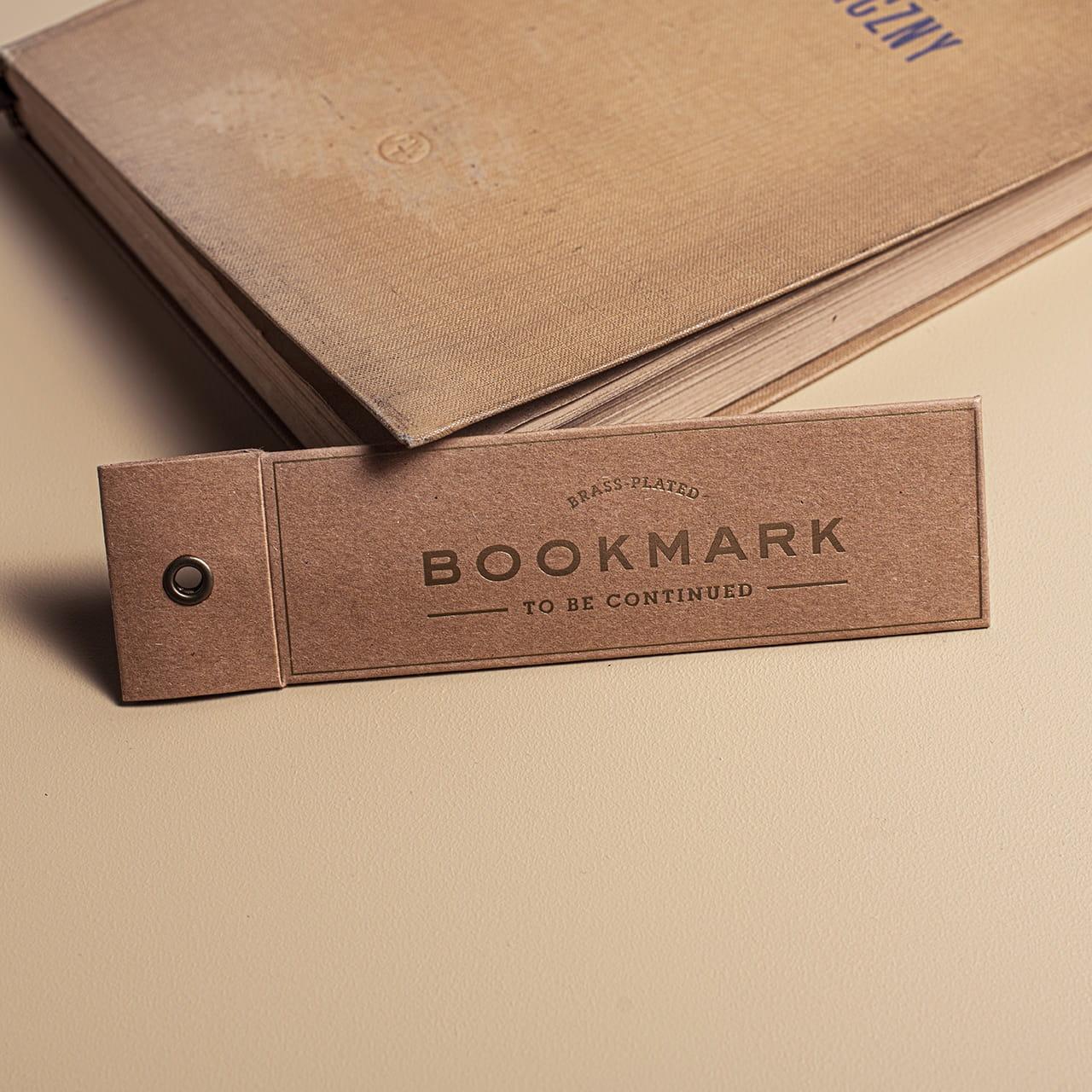 Metalowa zakładka do książki