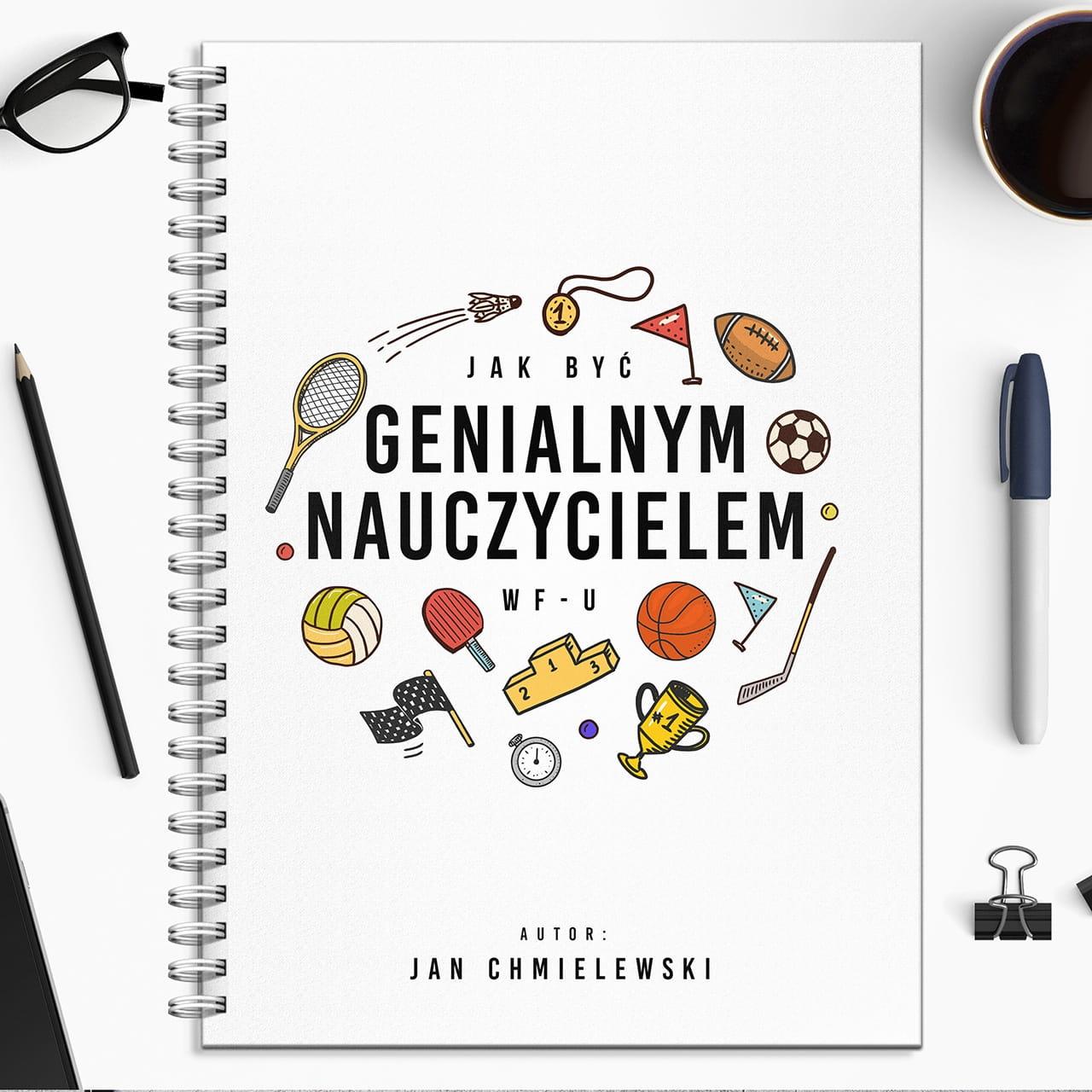 Notatnik personalizowany DLA NAUCZYCIELA WF-U