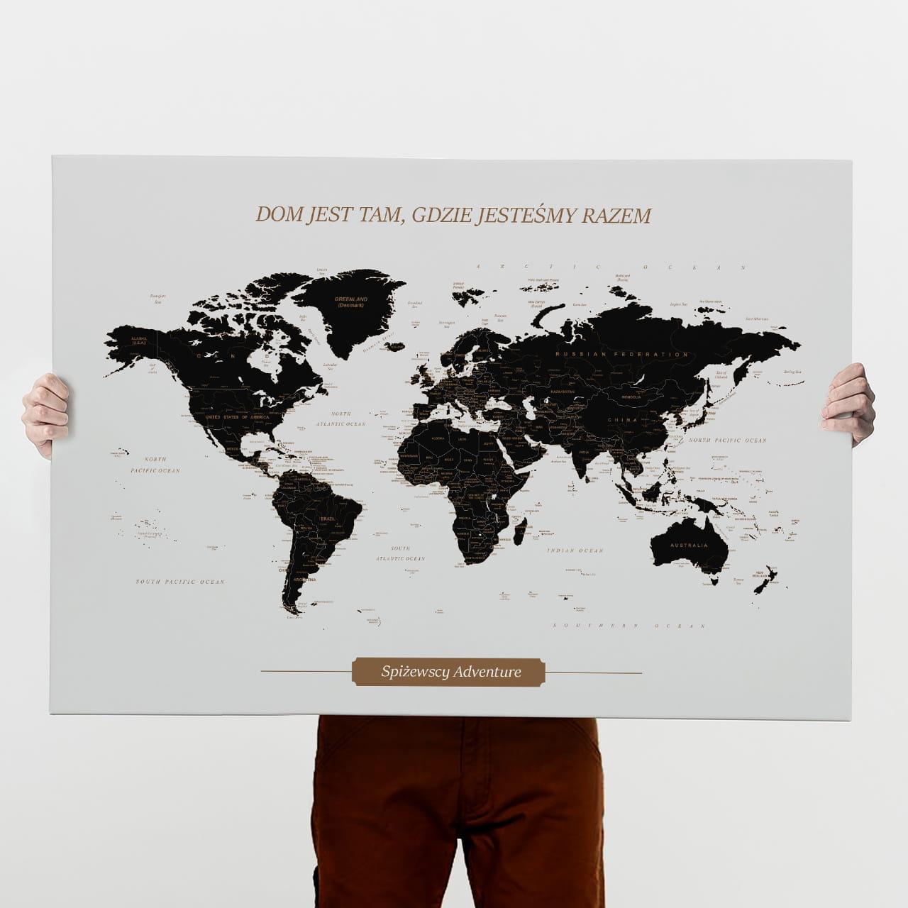 Obraz na płótnie PREZENT DLA RODZINY 100x70 cm