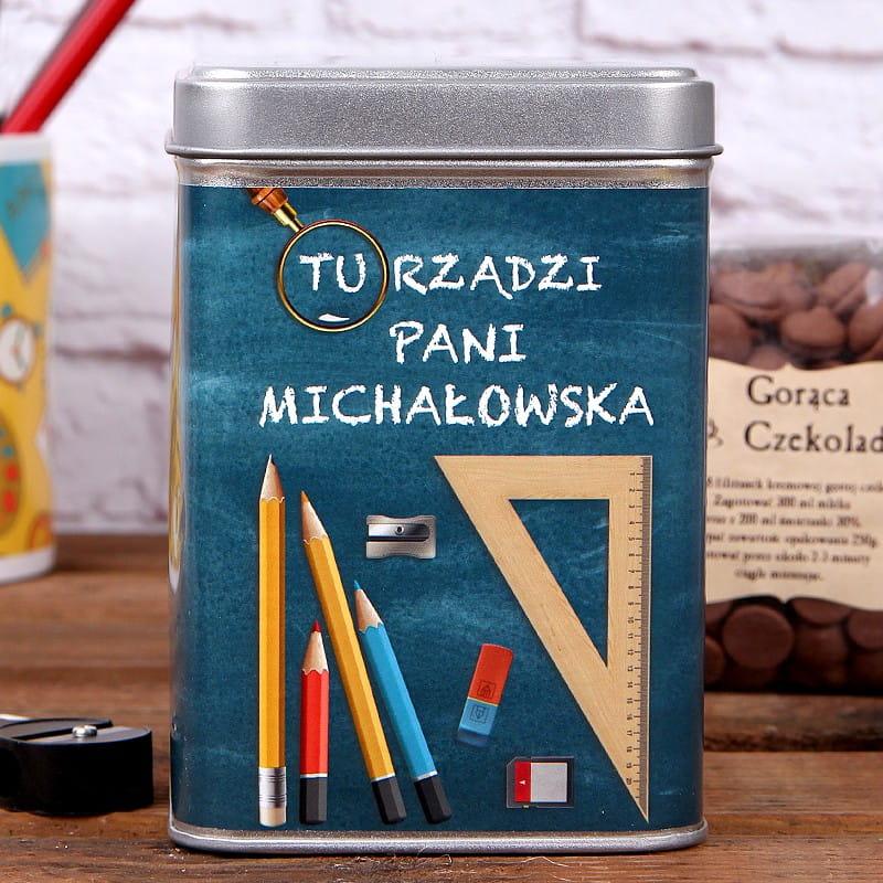 Personalizowana czekolada do picia PRZYBORY