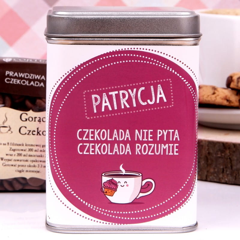 Personalizowana czekolada do picia SŁODKA PRZYJAŹŃ