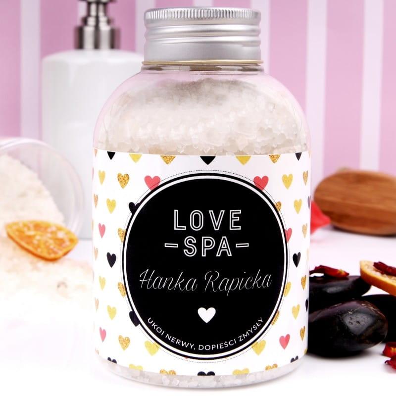 Personalizowana sól do kąpieli LOVE SPA