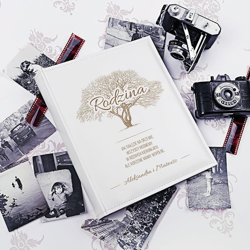 Personalizowany album na zdjęcia DRZEWO RODZINNE