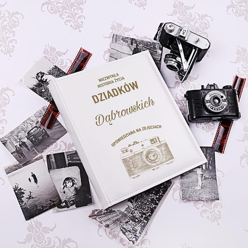 Personalizowany album na zdjęcia HISTORIA ŻYCIA