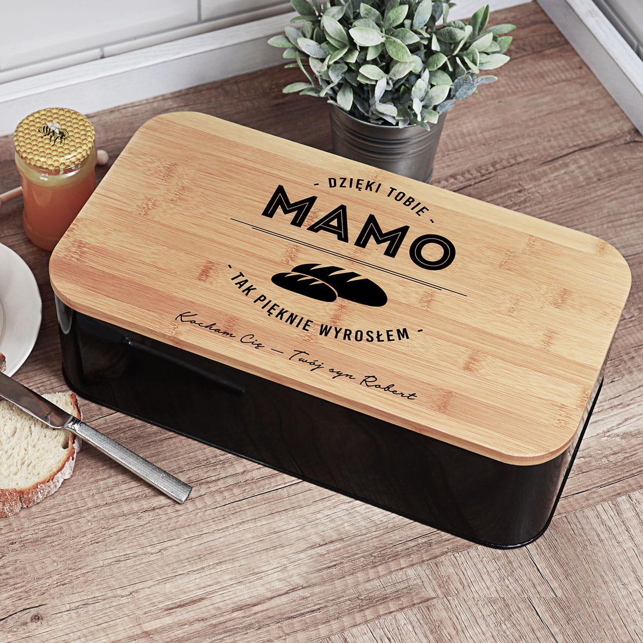 Chlebak z deską PREZENT DLA MAMY