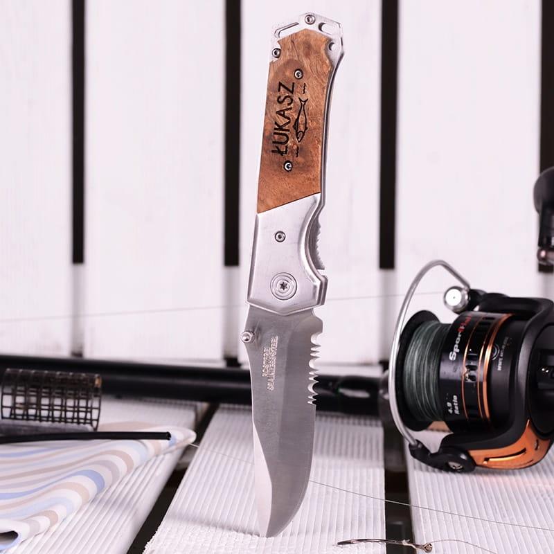 Personalizowany nóż WĘDKARZ