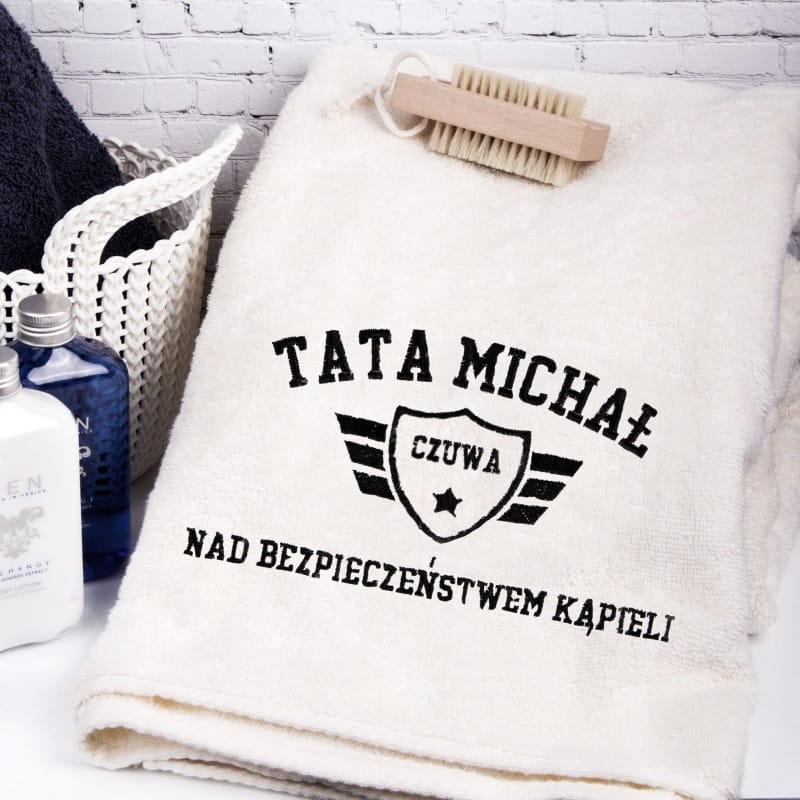 Personalizowany ręcznik PREZENT DLA TATY