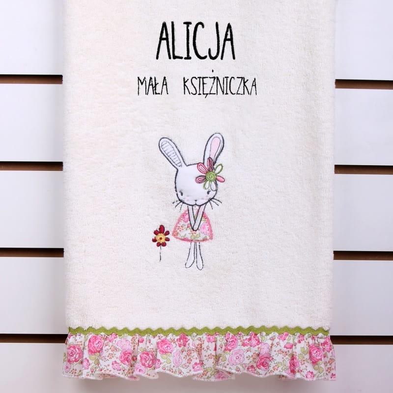 Ręcznik przedszkolaka z imieniem