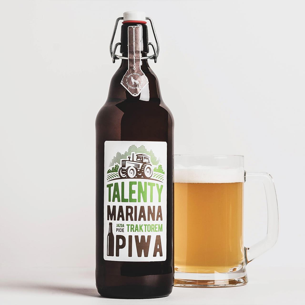 Piwo na prezent dla rolnika