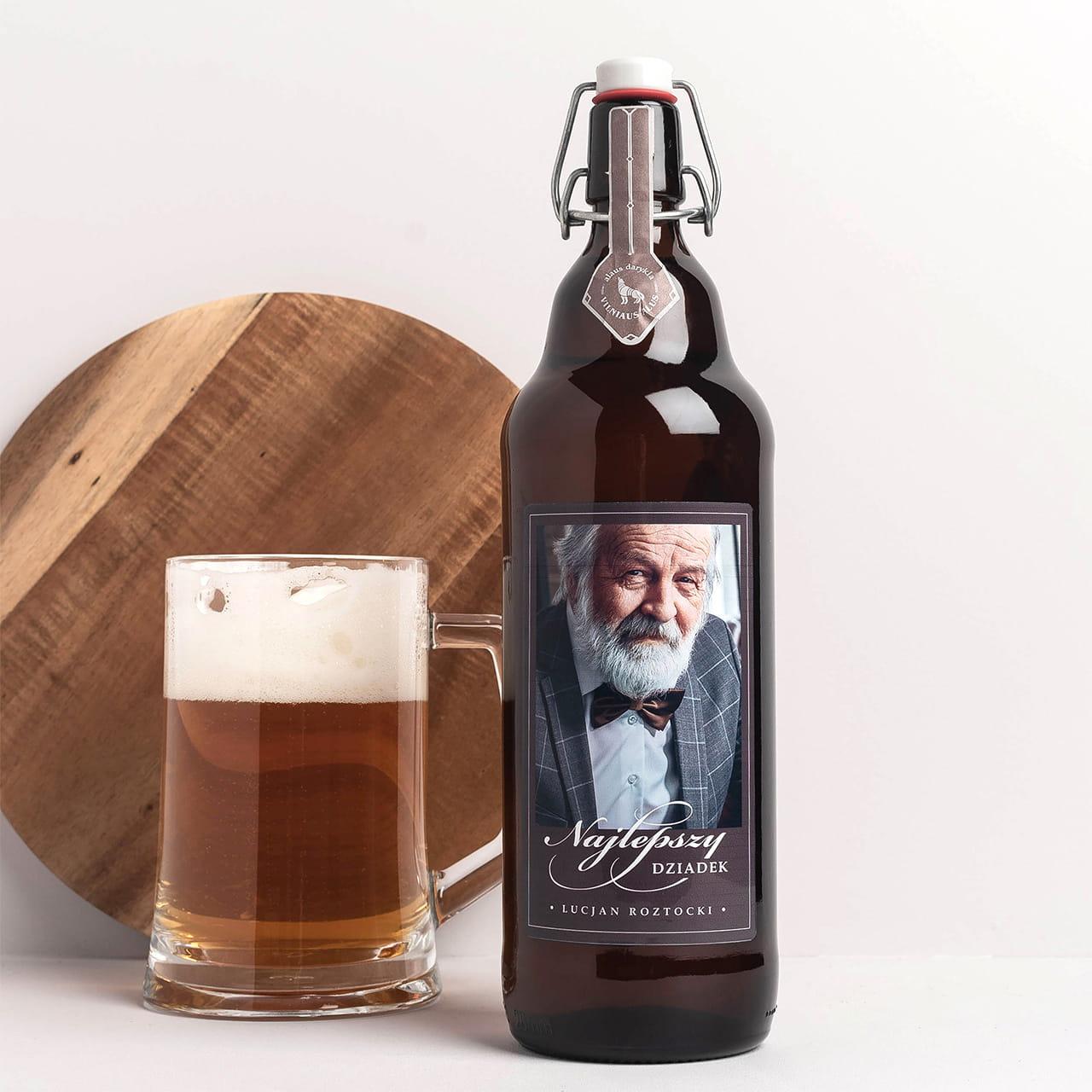 Piwo litrowe NAJLEPSZY DZIADEK