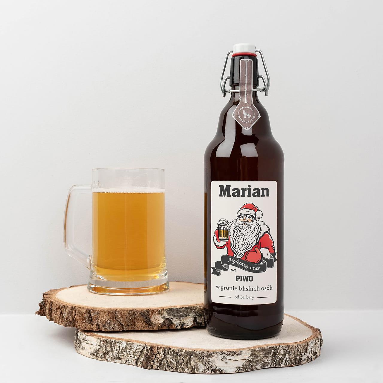 Piwo litrowe OD MIKOŁAJA