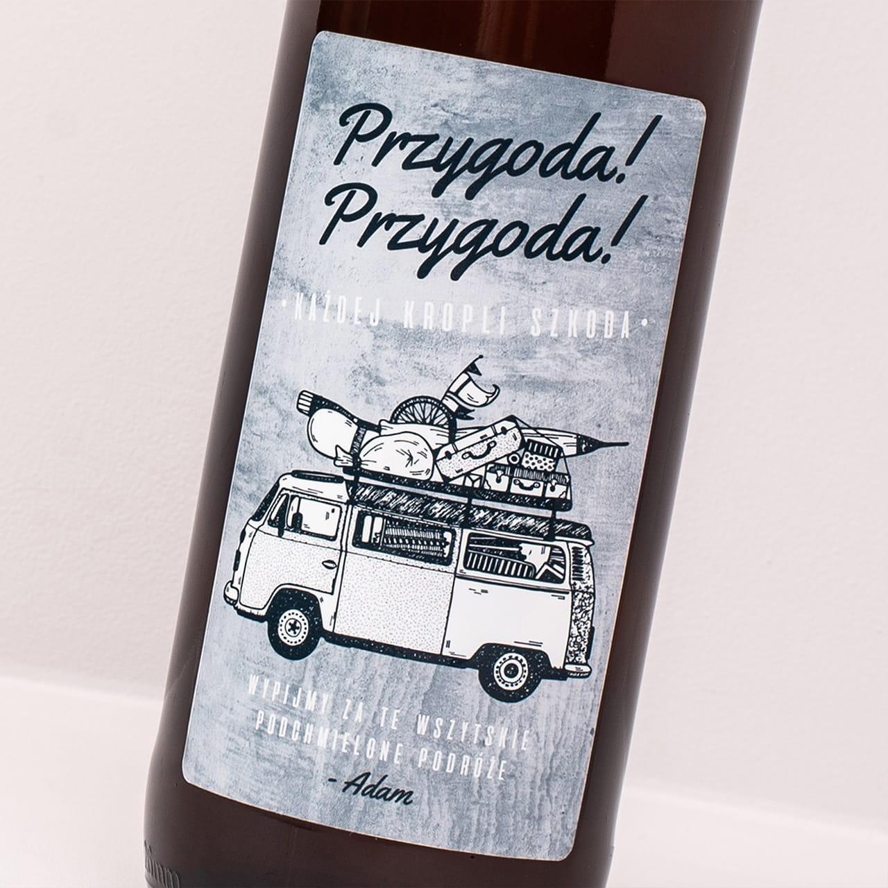 Piwo litrowe PRZYGODA