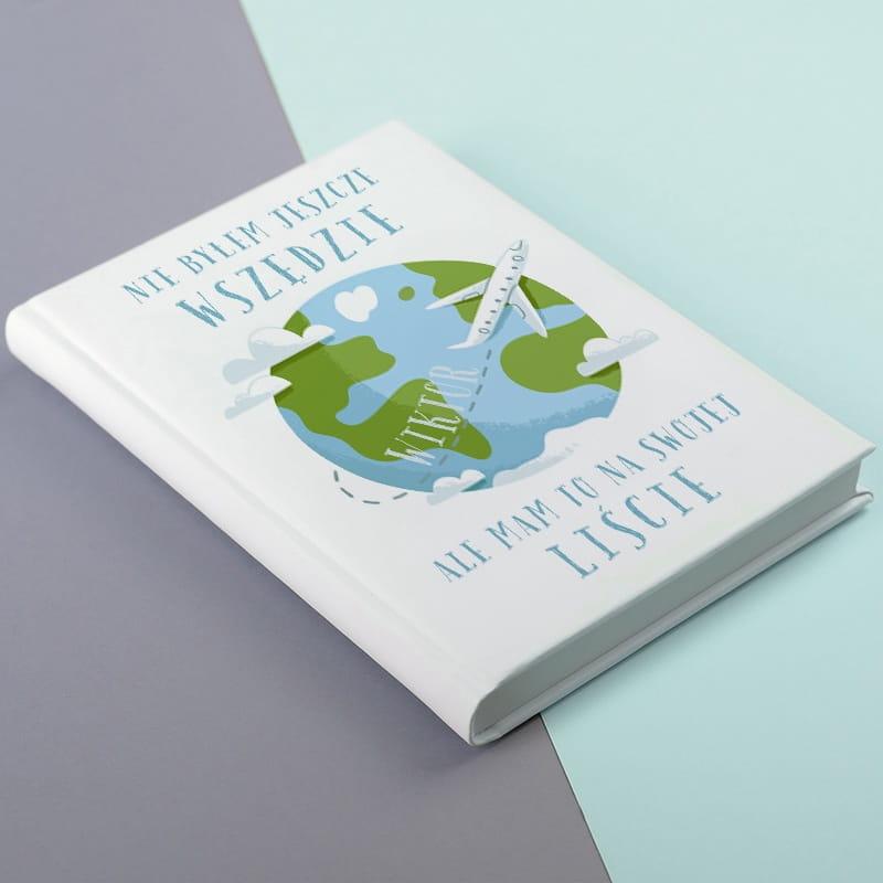 Planner książkowy PODRÓŻNIK biały