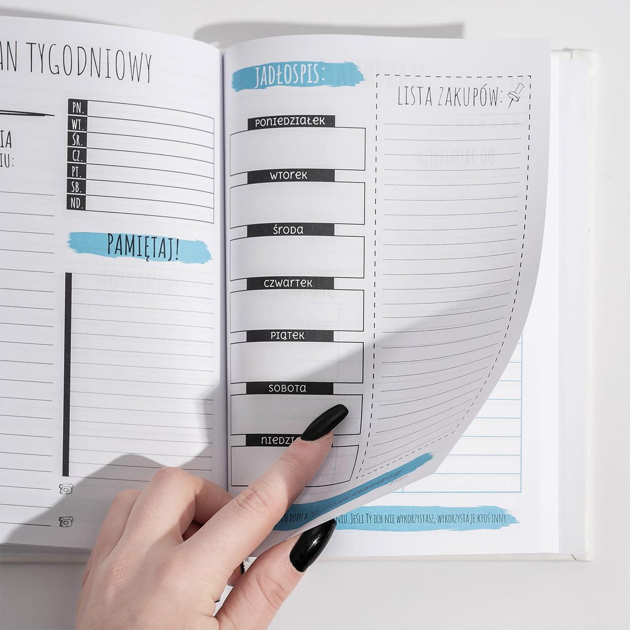 Personalizowany planner jako upominek dla maturzysty