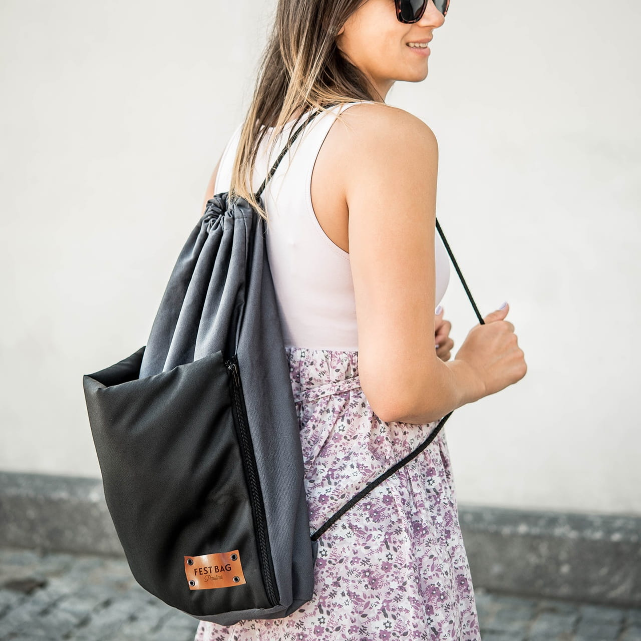 Plecak worek FEST BAG personalizowany