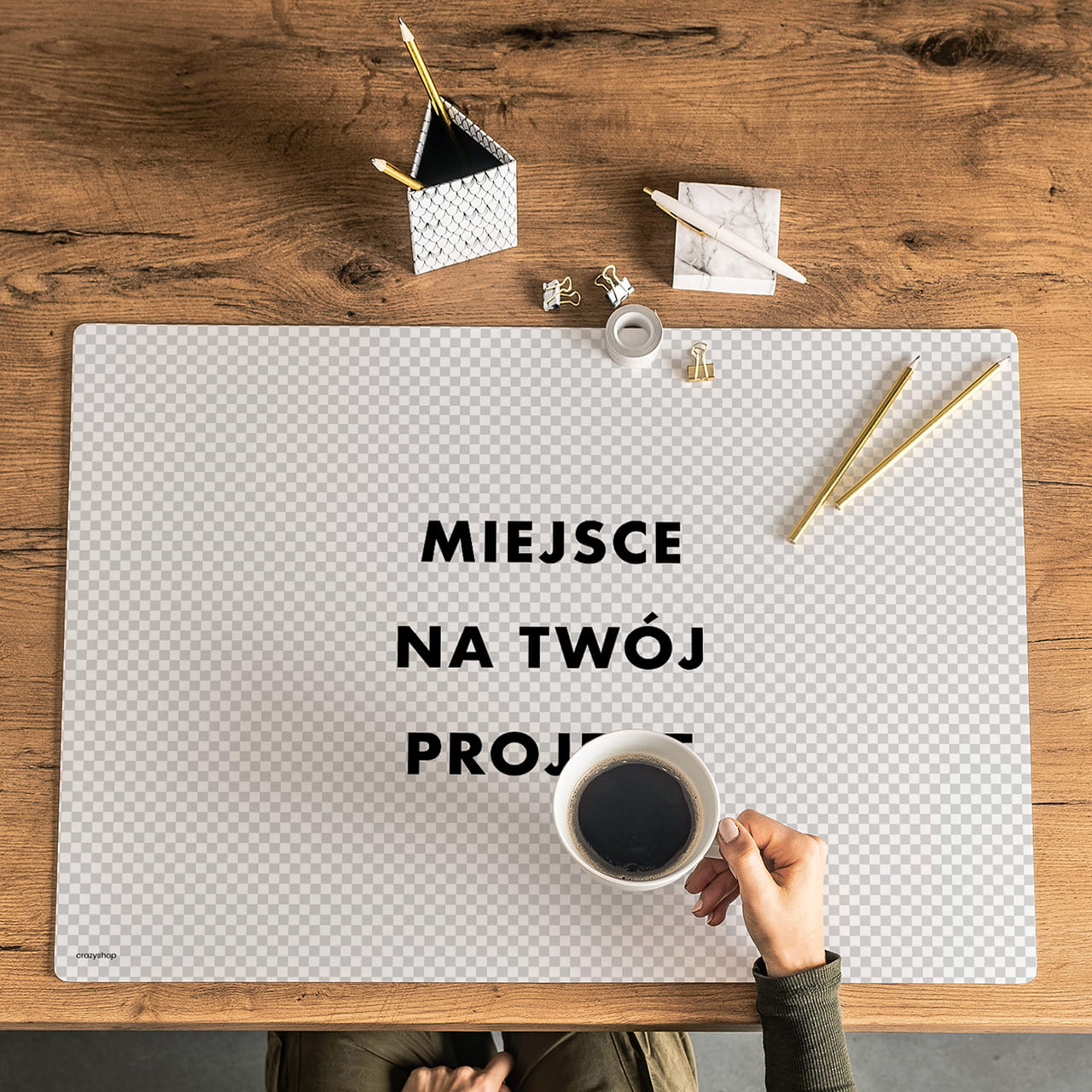 Podkładka na biurko TWÓJ PROJEKT