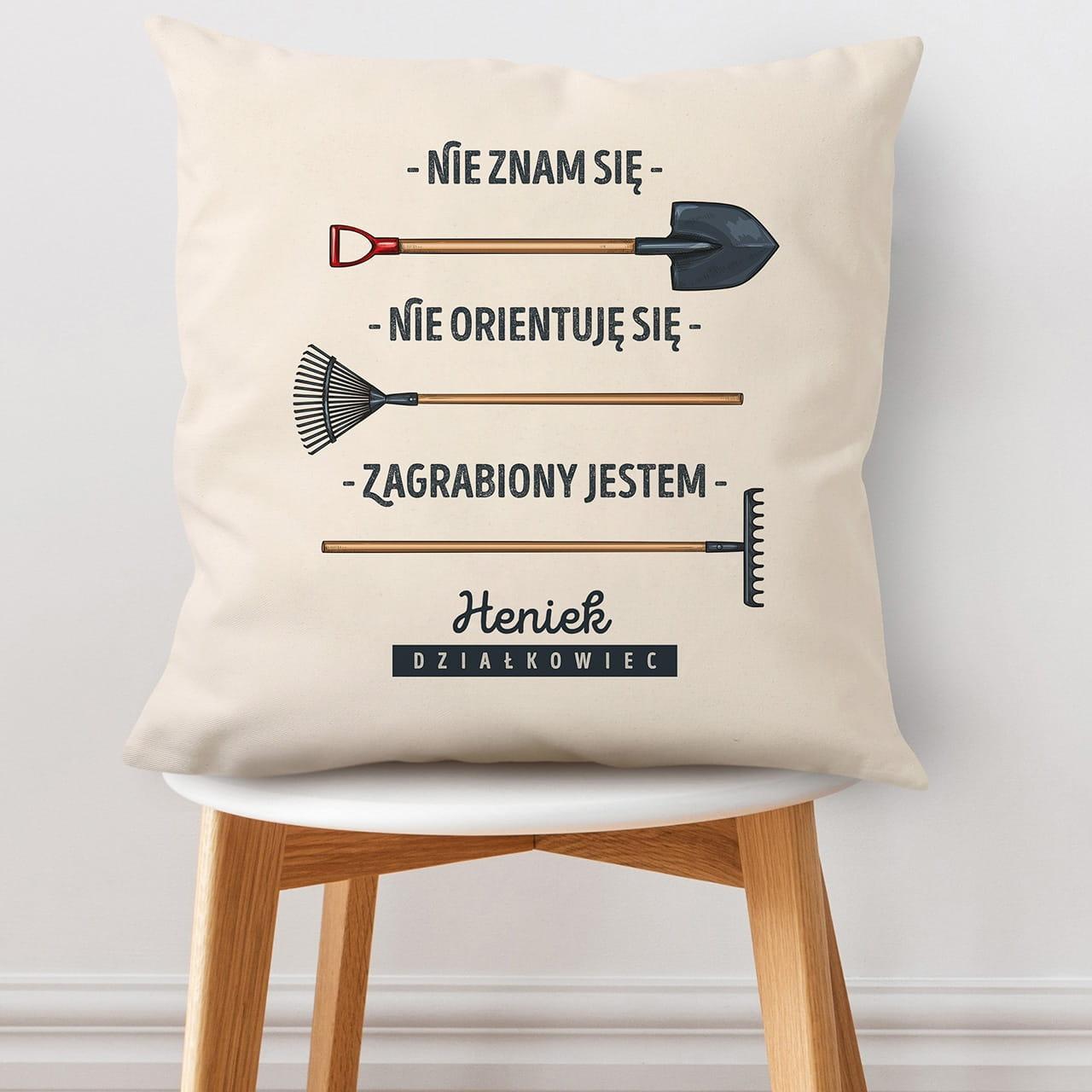 Poduszka na prezent dla rolnika