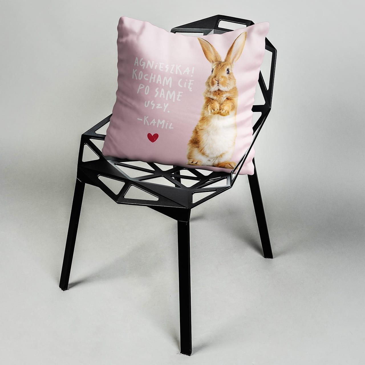 Poduszka z nadrukiem na prezent dla Ani