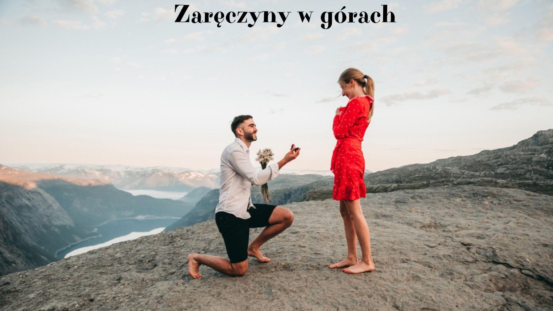 Pomysł na zaręczyny w górach