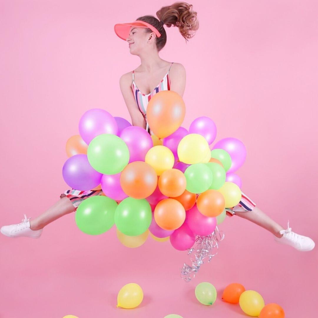 Balony kolorowe neon 25cm (5szt.)